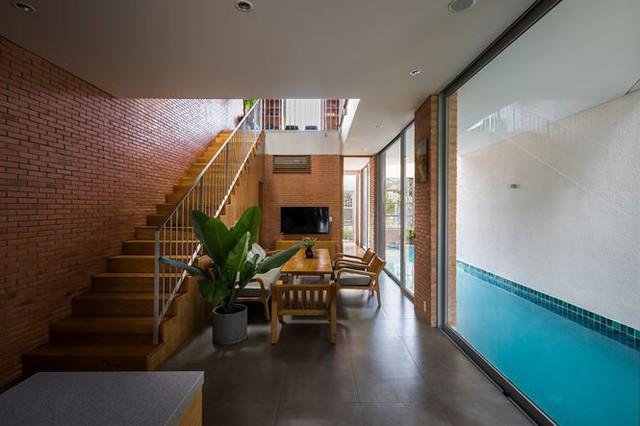 Nhà phố 3 tầng tuyệt đẹp với bể bơi và hàng chục khu vườn ở Sài Gòn - Ảnh 9.