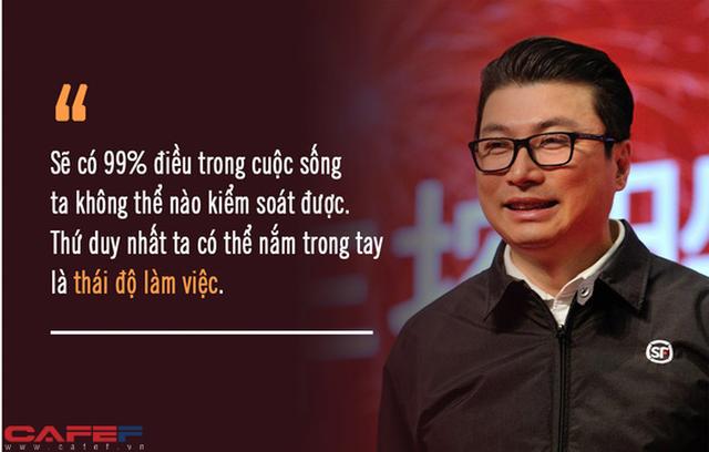 *Từ tay shipper quèn đến ông hoàng chuyển phát nhanh Jack Ma cũng phải nể: Có nhiều tiền mà thiếu 3 chữ này, sao dám nhận là nhà lãnh đạo tài ba? - Ảnh 1.