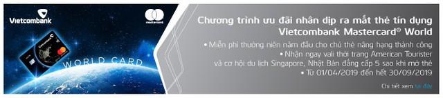 Vietcombank mạnh tay khuyến mãi dịp ra mắt thẻ Vietcombank Mastercard World - Ảnh 1.