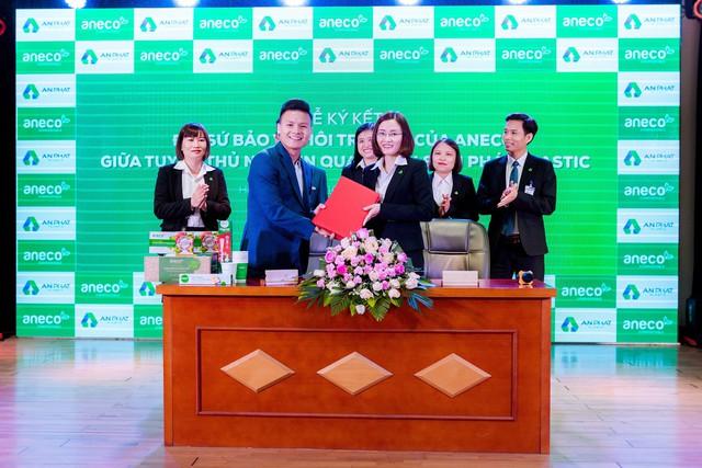 Tuyển thủ Quang Hải chính thức trở thành Đại sứ bảo vệ môi trường của AnEco - Ảnh 4.