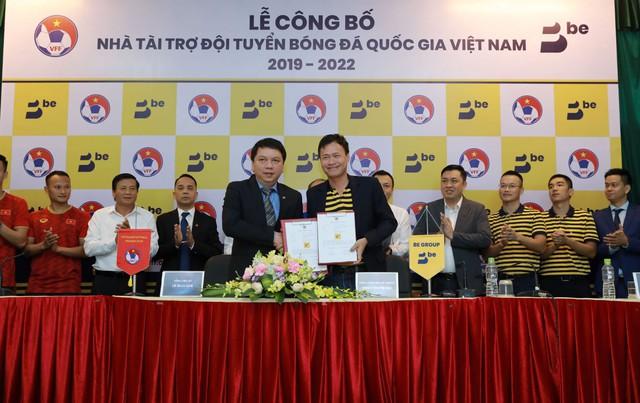 Be Group chính thức trở thành nhà tài trợ đồng hành cho đội tuyển bóng đá quốc gia  - Ảnh 1.
