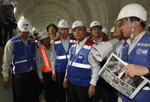 Thủ tướng thị sát dự án tuyến metro đầu tiên của TPHCM - Ảnh 3.