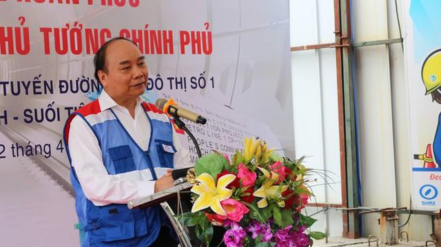 Thủ tướng Nguyễn Xuân Phúc chỉ đạo đảm bảo nguồn lực cho tuyến metro số 1  - Ảnh 4.