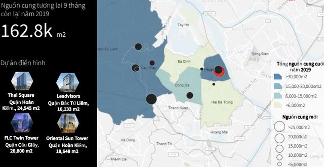 Nhu cầu tăng cao, giá thuê văn phòng tại Hà Nội tiếp tục tăng - Ảnh 4.
