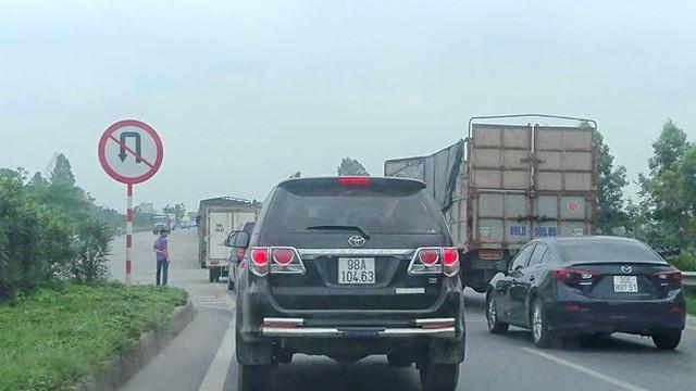 Ô tô ùn tắc hàng km trên cao tốc Hà Nội - Bắc Giang - Ảnh 6.