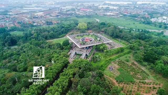 Toàn cảnh siêu dự án khu văn hoá đền Hùng TPHCM sau hơn 20 năm xây dựng - Ảnh 9.