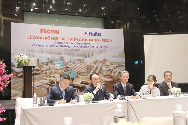 Chủ tịch Tập đoàn Raito Kogyo: Đầu tư vào FECON để kinh doanh lĩnh vực công trình ngầm, hạ tầng đầy tiềm năng tại Việt Nam - Ảnh 1.