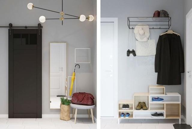 Hô biến căn hộ 30m2 thành không gian sống tiện nghi của đôi vợ chồng trẻ - Ảnh 6.