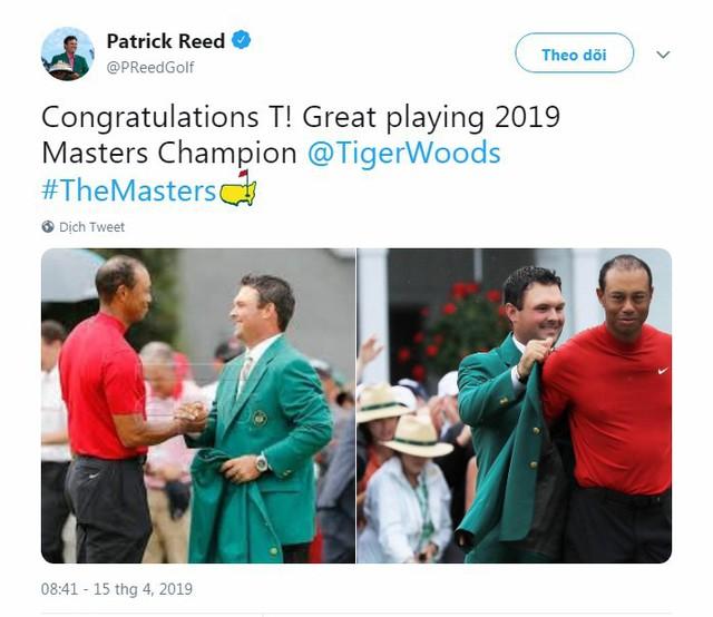 Tổng thống Trump, Obama và hàng loạt ngôi sao hân hoan chúc mừng chiến thắng của huyền thoại golf Tiger Woods trong giải Master 2019 - Ảnh 6.