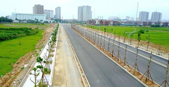 Toàn cảnh tuyến đường nối vào KĐT Mường Thanh Thanh Hà sắp hoàn thành - Ảnh 2.