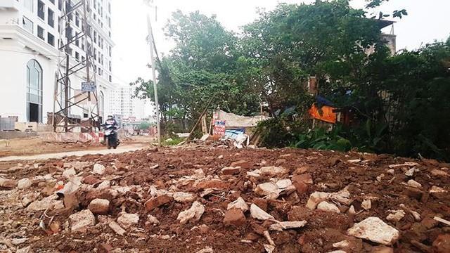 Cận dự án đường BT chưa động thổ, đất đối ứng đã rao bán - Ảnh 3.