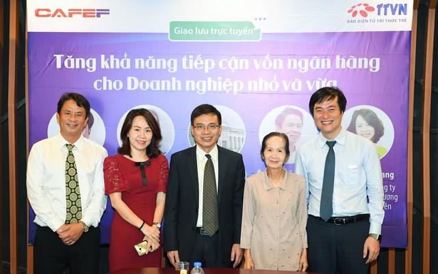 Chuyên gia Phạm Chi Lan, lãnh đạo NHNN, CEO ABBank và CEO doanh nghiệp cùng bàn cách tăng khả năng tiếp cận vốn ngân hàng cho SME - Ảnh 1.