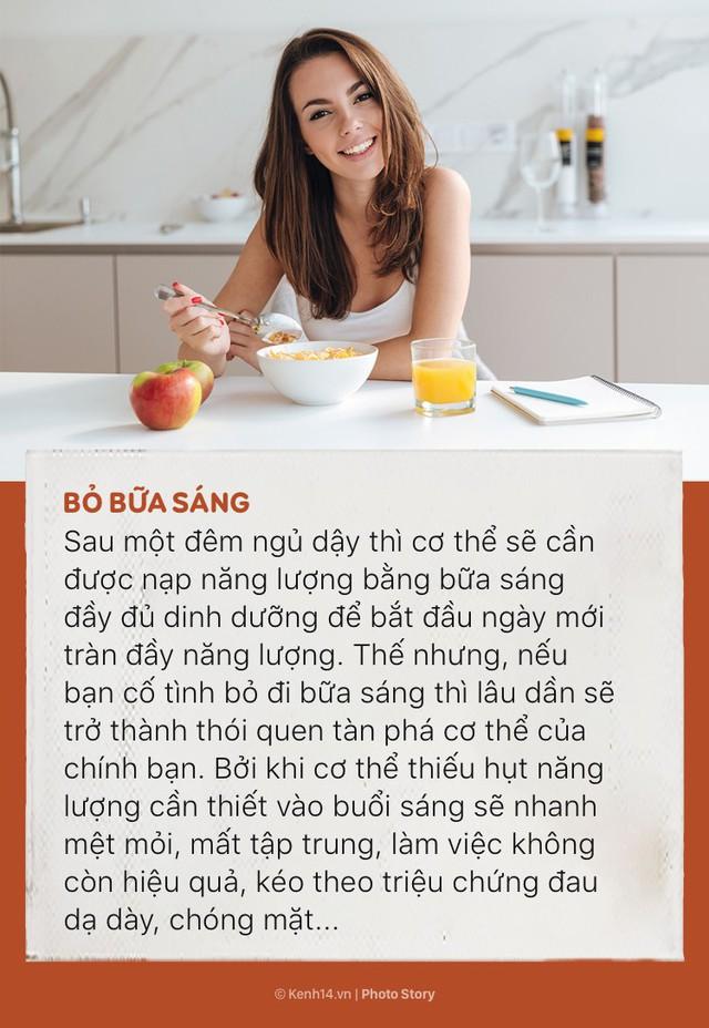 Đừng để sức khoẻ bị tàn phá nhanh chóng bởi những thói quen ăn uống sai lầm này - Ảnh 1.