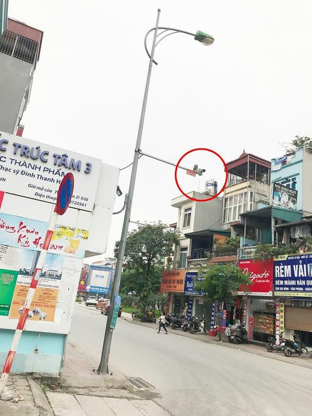Hà Nội: Quận Long Biên tốn kém lắp camera để làm... màu? - Ảnh 2.