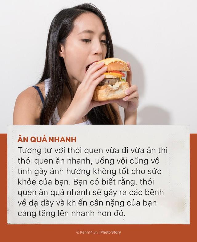 Đừng để sức khoẻ bị tàn phá nhanh chóng bởi những thói quen ăn uống sai lầm này - Ảnh 3.