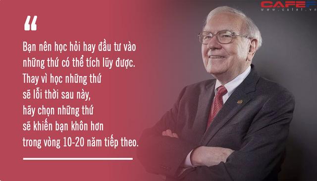 Đọc mọi thứ về Warren Buffett, tôi mới ngộ ra tại sao ông và Bill Gates lại coi trọng nhất 2 chữ này trong sự nghiệp: Người thành công sẽ chẳng từ chối điều gì! - Ảnh 3.