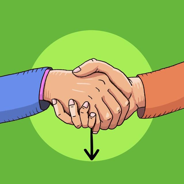 Đọc vị tính cách người đối diện qua 6 kiểu bắt tay: Những quy tắc ngầm trong nghệ thuật giao tiếp - Ảnh 2.