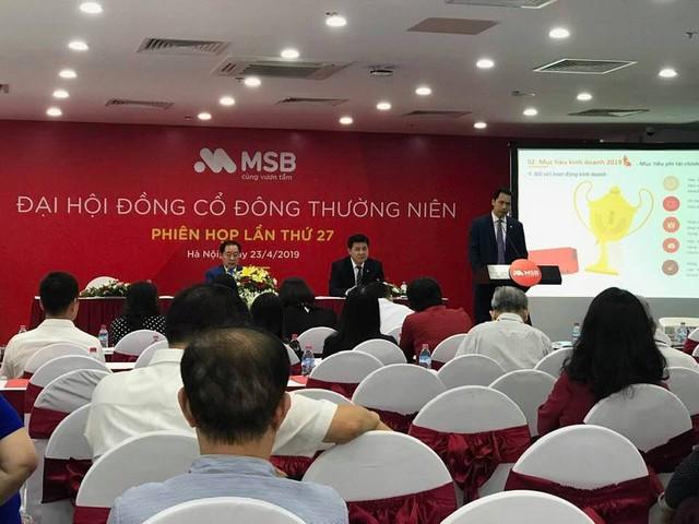 ĐHCĐ MSB: Tăng vốn thêm 1.000 tỷ, niêm yết cổ phiếu trên HoSE trong năm nay - Ảnh 1.