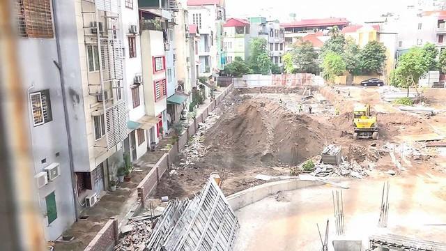 Hàng chục căn nhà nứt toác cạnh dự án chung cư đang xây - Ảnh 9.