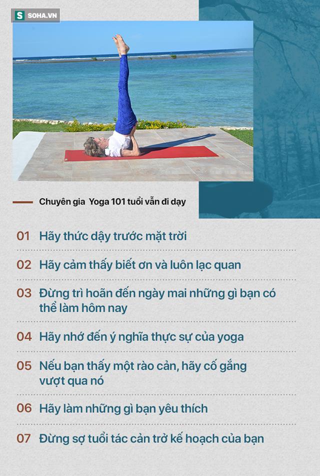 Chuyên gia Yoga 101 tuổi: 7 bí mật để lão hóa đi một cách duyên dáng, khỏe mạnh, lạc quan - Ảnh 2.