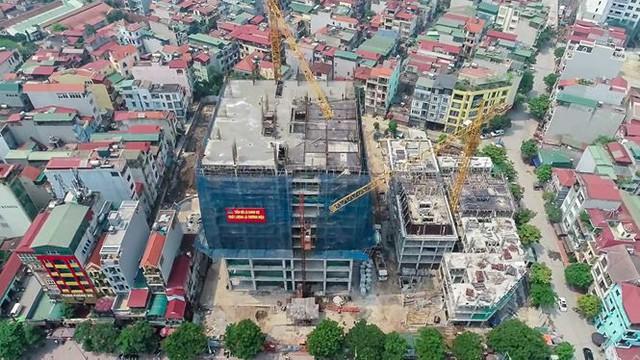 Vụ nhà nứt toác cạnh dự án chung cư: Dân kêu, chủ đầu tư chỉ hứa hẹn - Ảnh 5.