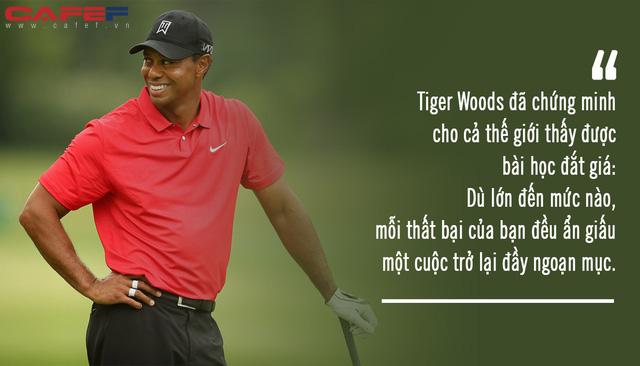 Tiger Woods đã dùng 11 năm chật vật không danh hiệu để đổi lấy 5 bài học quý giá này: Hãy đeo những thất bại của mình như tấm huân chương vinh quang! - Ảnh 1.