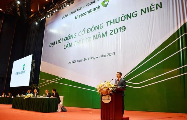 ĐHCĐ Vietcombank: Kế hoạch lãi 20.000 tỷ, tiếp tục chào bán cho nhà đầu tư nước ngoài - Ảnh 1.