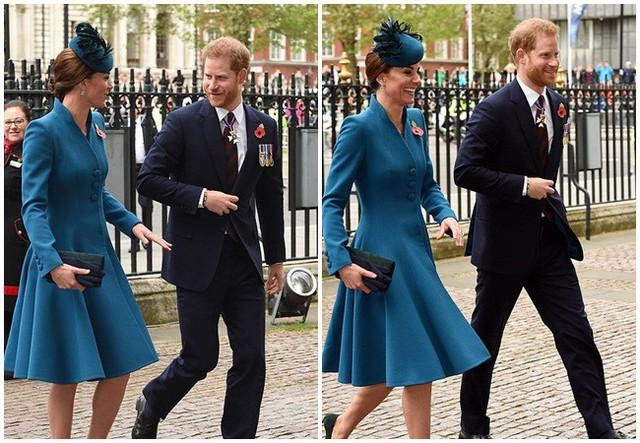 Hóa ra đằng sau một loạt khoảnh khắc Công nương Kate cười đùa vui vẻ với em chồng Harry khi không có mặt Meghan lại ẩn chứa lý do sâu xa bất ngờ này - Ảnh 1.