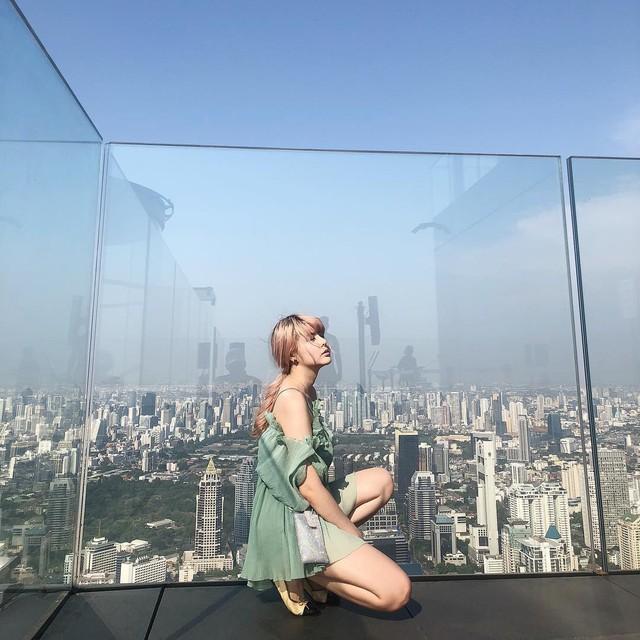 Dân tình hốt hoảng với sàn kính cao ở độ cao trên 300m ngắm trọn cảnh thủ đô Bangkok - Ảnh 9.
