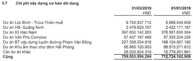 Nhiều dự án chưa bàn giao, Văn Phú Invest (VPI) báo lãi hơn 2 tỷ đồng trong quý 1 - Ảnh 2.