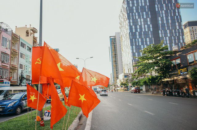 Sài Gòn bình yên lạ thường, đường phố vắng bóng phương tiện trong những ngày nghỉ lễ 30/4 - 1/5 - Ảnh 11.