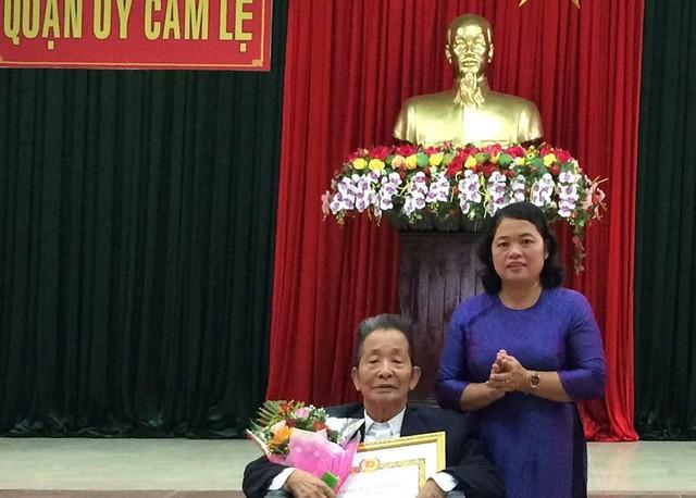 Chuẩn y tân Chủ nhiệm Ủy ban kiểm tra Thành ủy Đà Nẵng - Ảnh 1.