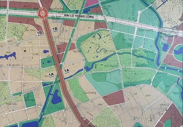 Khởi động xây dựng đường vành đai 3,5 và một số tuyến đường khác chạy qua Hoài Đức và Hà Đông, hàng vạn người dân khu vực sẽ vui mừng khôn xiết - Ảnh 1.