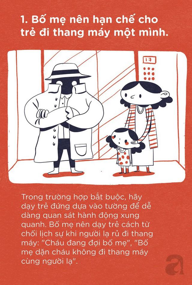 Trọn bộ bí kíp tự bảo vệ mình: Trang bị ngay cho con để trẻ có thể tự bảo vệ mình ở bất cứ đâu và bất cứ hoàn cảnh nào - Ảnh 1.
