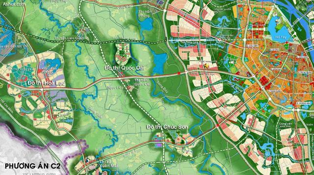 Khởi động xây dựng đường vành đai 3,5 và một số tuyến đường khác chạy qua Hoài Đức và Hà Đông, hàng vạn người dân khu vực sẽ vui mừng khôn xiết - Ảnh 2.