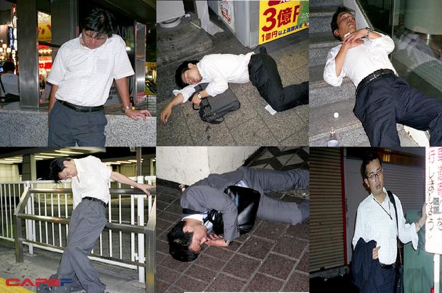 Mặt tối của văn hóa làm việc như thiêu thân của người Nhật: Tận lực với công việc để rồi ngủ gục ngay cả trên đường phố giữa đêm - Ảnh 2.