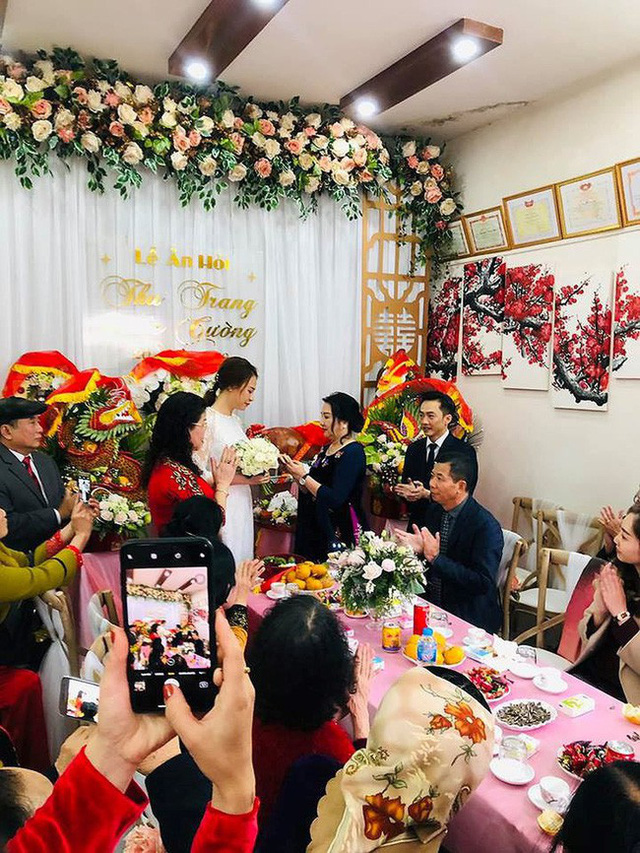 Doanh nhân Nguyễn Quốc Cường chính thức tiết lộ ảnh cưới với Đàm Thu Trang cùng lời nhắn gửi cực tình cảm - Ảnh 2.