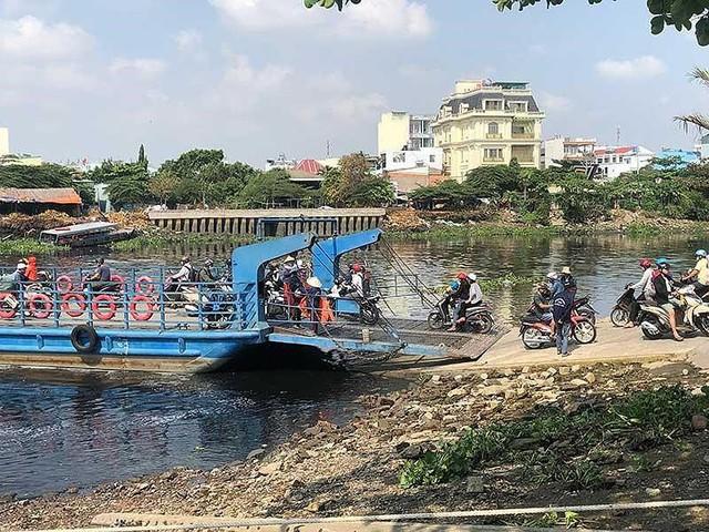 Cầu An Phú Đông chưa xây, giá đất đã nhấp nhổm - Ảnh 1.