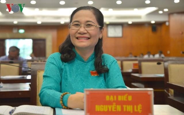 Chân dung tân Chủ tịch HĐND Thành phố Hồ Chí Minh Nguyễn Thị Lệ - Ảnh 1.