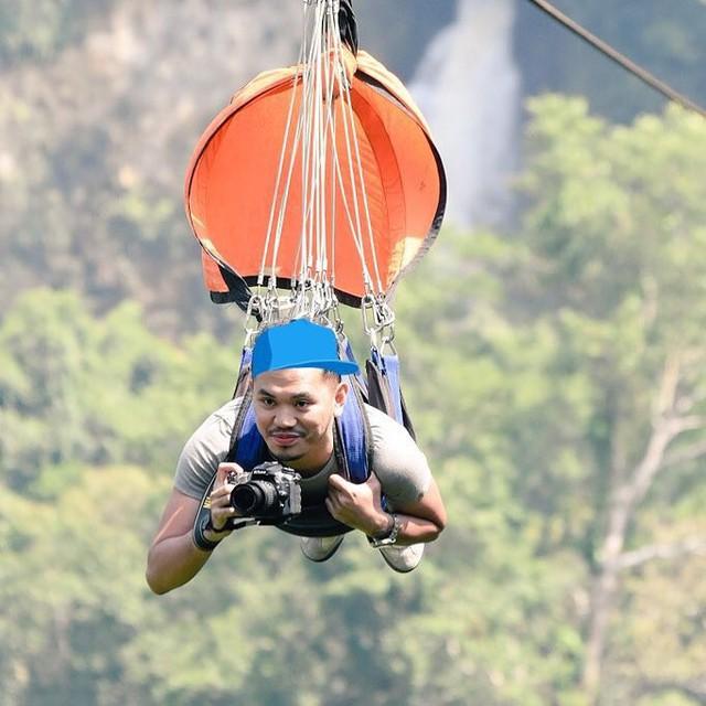 """Dân mạng """"rùng mình"""" với trải nghiệm treo người lửng lơ vượt các con thác cao nhất châu Á, liệu bạn có dám thử? - Ảnh 17."""