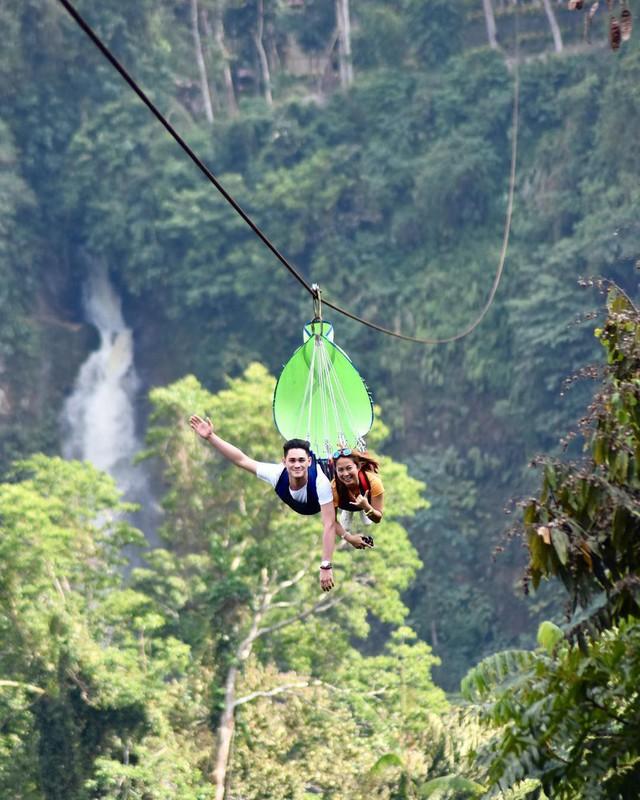 """Dân mạng """"rùng mình"""" với trải nghiệm treo người lửng lơ vượt các con thác cao nhất châu Á, liệu bạn có dám thử? - Ảnh 5."""