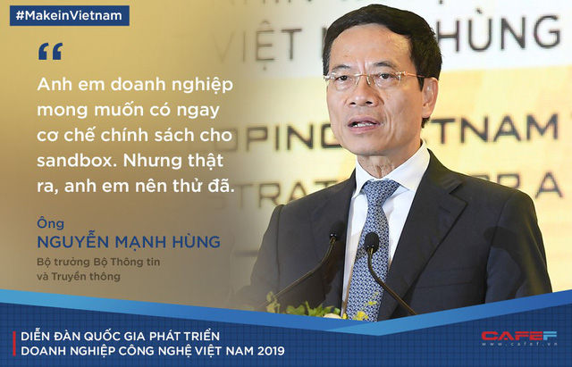 Bộ trưởng Nguyễn Mạnh Hùng: Công nghệ mới nhất mà anh em doanh nghiệp muốn làm nên tìm đến Điện Biên! - Ảnh 1.
