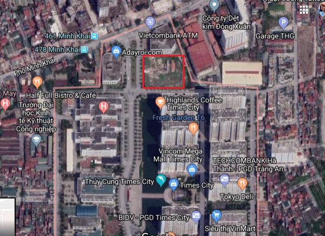 Vinhomes xây trung tâm thương mại - văn phòng ở Times City - Ảnh 1.
