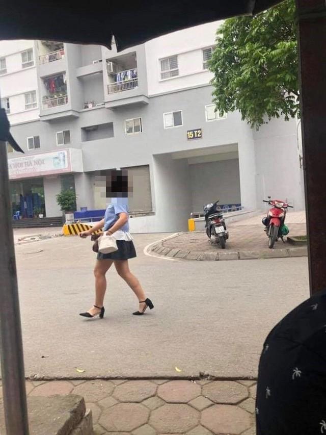 Thêm vụ nữ tài xế đạp nhầm chân ga, suýt đâm vào ba công nhân nam - Ảnh 3.