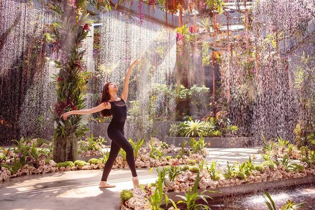 """Sau Jewel Changi, Singapore lại có thêm """"kỳ quan"""" vườn hoa treo khổng lồ khiến dân tình phải ngước lên """"mỏi cả cổ"""" để ngắm nhìn - Ảnh 13."""