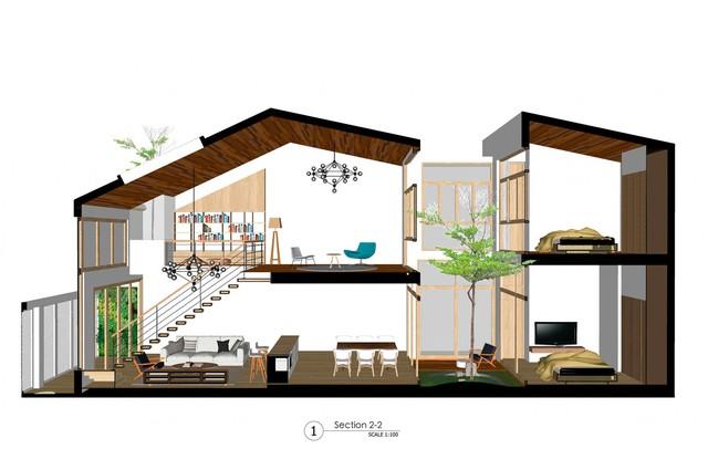 [Ảnh] Nhà ống 2 tầng ở Đà Nẵng có thiết kế đơn giản nhưng vẫn tuyệt đẹp - Ảnh 2.