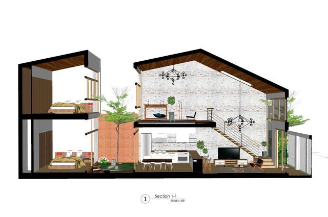 [Ảnh] Nhà ống 2 tầng ở Đà Nẵng có thiết kế đơn giản nhưng vẫn tuyệt đẹp - Ảnh 3.