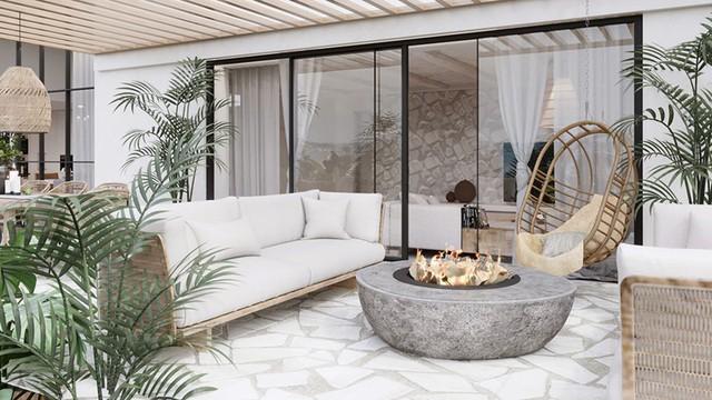 Ngôi nhà của bạn trở nên thơ mộng hơn với màu trắng tinh khôi - Ảnh 8.