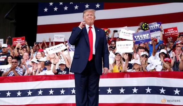 """Cứng rắn với Trung Quốc, Trump """"đánh cược"""" trong cuộc đua Tổng thống 2020? - Ảnh 1."""