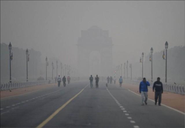 Thành phố New Delhi đặt trong tình trạng báo động ô nhiễm không khí - Ảnh 1.